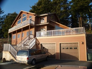 Image of a New Home Construction in Humboldt County.
