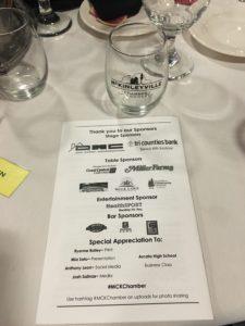 dmc donates to Mckinleyville Chamber